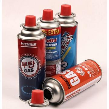 Butane gas cartridge and butane gas can