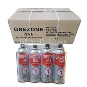 high quality universal Butane gas can