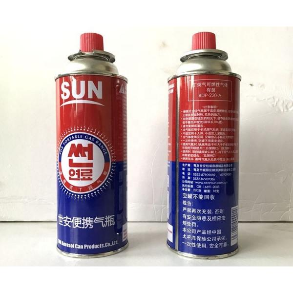 camping small refilled lpg gas canister with burner for sales